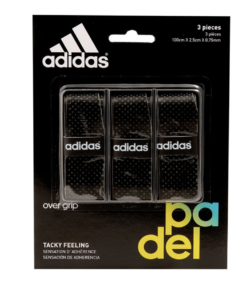 Set Overgrip Black. Asia Padel